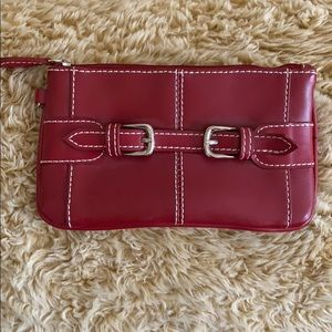 Red Wilson's leather clutch